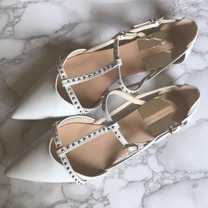 Zara Studded Flats